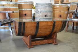 Wine Barrel Kitchen Table Barrel Table How To Build In 14 Unique Ways Guide Patterns