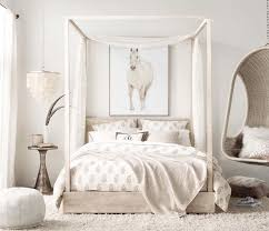 Beautiful room with the Callum storage canopy bed - RH Teen | Not ...