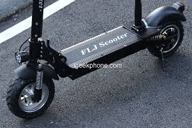 <b>FLJ C11</b> Review - <b>1200W 10inch</b> wheel Electric Scooter with seat ...