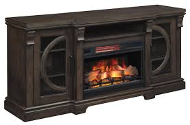 mantel with fire insert