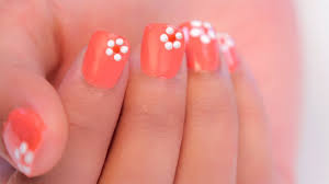 Easy Floral Nail Designs Easy Flower Nail Art For Beginners