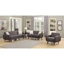 Three Piece Living Room Set Ac Pacific Crystal 3 Piece Living Room Set Wayfair