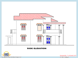 side elevation view of 2318 sq ft house may 2016