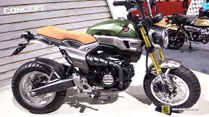 honda grom 50 scrambler concept two walkaround 2016 tokyo motor show