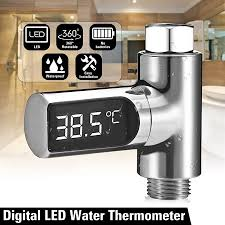 Loskii <b>LW</b>-<b>101 LED</b> Display Home Passive LED Temperature ...