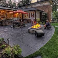 Interesting Concrete Patio Designs 25 Patios Ideas On Pinterest Stamped For Concept Design