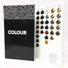 Issue Professional Color Chart Professional Hair Colour Chart For Hair Coloring With Drop Shape Hair