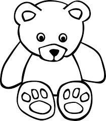 cute animals clipart black and white. Fine White Jpg Black And White Download Animals Clipart Stuffed Animal  Symmetrical Free In Cute Clipart Black And White