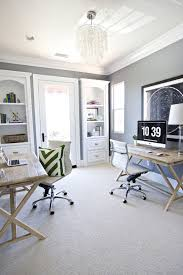 Home office home ofice creative Office Space 22 Creative Workspace Ideas For Couples Via Brit Co Shared Home Offices Shared Rememberingfallenjscom 22 Creative Workspace Ideas For Couples Via Brit Co u003cu003cu003c Work