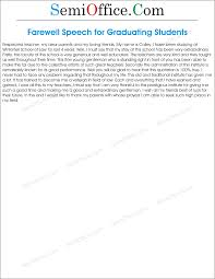 sample farewell speech for graduating students png ssl  how to write speech for a graduation party