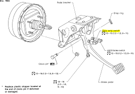 1997 Nissan Maxima Brake Lights Stay On Tick Noise From The Gear Knob Area When Brake Applied