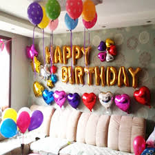Small Picture How To Make Birthday Decoration At Home Designs And Colors Modern