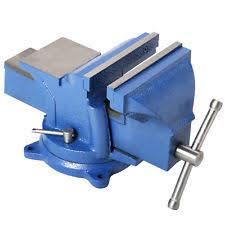 Wilton MultiPurpose Bench Vise U2014 5in Jaw Width Rotating Head Hydraulic Bench Vise