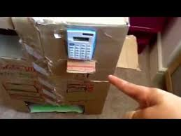 Cardboard Vending Machine Custom My Cardboard Vending Machine Epic Edition YouTube
