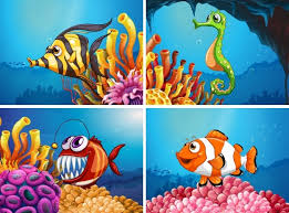 Under The Sea Birthday Chart Under The Sea Vectors Photos And Psd Files Free Download