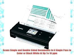 Brother Ds 820w Wireless Mobile Color Page Scanner Or Idea Brother