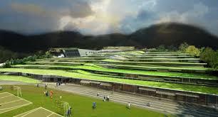 revin green roof school image