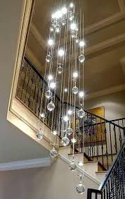 cascading glass bubble chandelier light lamp shade pendant ceiling glass bubble