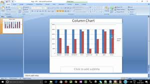 How To Link Excel Charts With Ms Word Power Point Tamil