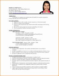 International Standards Resume format Unique Nurses Cv format Cerescoffee