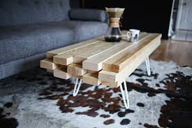 diy wooden coffee table a beautiful mess throughout diy wood tables remodel 3