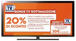 BONUS ROTTAMAZIONE TV - Expert