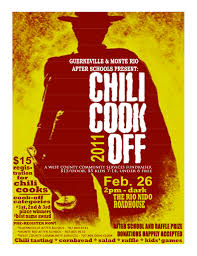chili cook off poster. Beautiful Chili Chili CookOff At The Roadhouse Feb 26 Donu0027t  And Cook Off Poster L