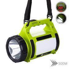 Giảm 45 %】 ĐÈN LED công suất cao Đèn Pin Đèn Pha Tìm Kiếm Trợ Sáng 20000  lumens Đèn Pin Đèn cắm trại Bên ánh sáng đỏ + trắng sáng 5 chế độ chiếu sáng