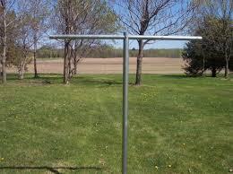heavy duty t post clothesline poles clothesline poles clothes line poles clothesline pole
