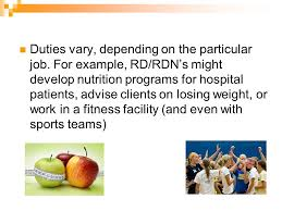Registered Dietitian/nutritionist Career Introduction For This ...