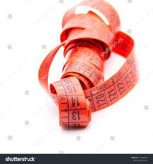 Red Tape Light Blur Red Tape Measure White Light Stock Photo Edit Now
