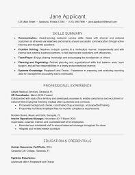 Modele De Cv Education Nationale Inspirant Resume Example