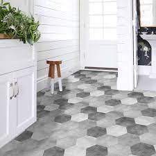 Self adhesive floor tiles ...