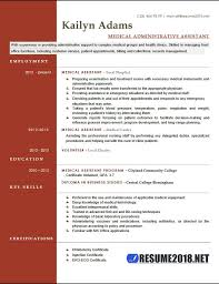 Medical Assistant Resume Examples Adorable Medical Assistant Resume Examples 60 Six Templates In Docx Format