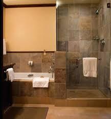 Walk in shower with half wall Shower Enclosure Startling Bathroom Corner Walk Shower Ideas In Showers For Half Wall Seniors Tray Medium Size Fundacionsosco Bathroom Walk In Shower Ideas Fundacionsosco