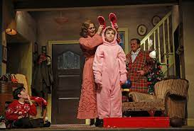Toby's dinner theatre is currently staging a production. Review Christmas Story The Musical Laughs And Loves In Aurora Chicago Tribune