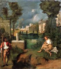the tempest by giorgione my daily art display the tempest by giorgione