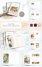 chief recipe book template for children page printable cookbook