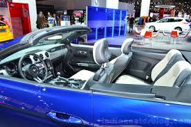 ford mustang convertible interior. 2015 ford mustang convertible interior at the 2014 paris motor show
