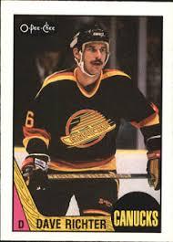Vancouver Canucks Legends: Dave Richter