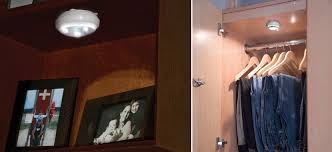 closet lighting solutions. View In Gallery Battery-operated Puck Lightin From Pegasus Lighting Closet Solutions S