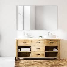 masterpiece decor fixed mirror mounting
