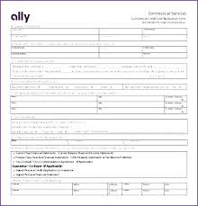 Wholesale Credit Application Template Printable Order Form Templates