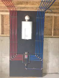 Water Heater Box Install Of A Pex Manifold With A Rinnai Tankless Water Heater