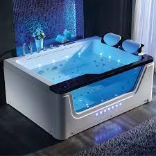 new design whirlpool bathtub with big waterfall for 2 person whirlpool bath tubs