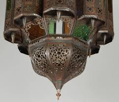 moroccan handcrafted mamounia light fixture 3