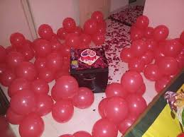 room for birthday surprise