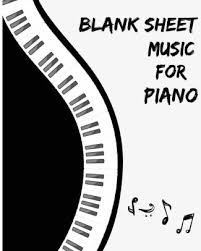 Blank Staff Paper Piano Blank Sheet Music For Piano Staff Paper 12 Staff 100pages 8x10