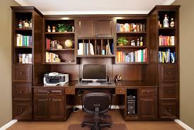 home office cabinetry. Location: Snohomish, WA Home Office Cabinetry