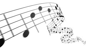Music Notes Flowing On White Stock Footage Video 100 Royalty Free